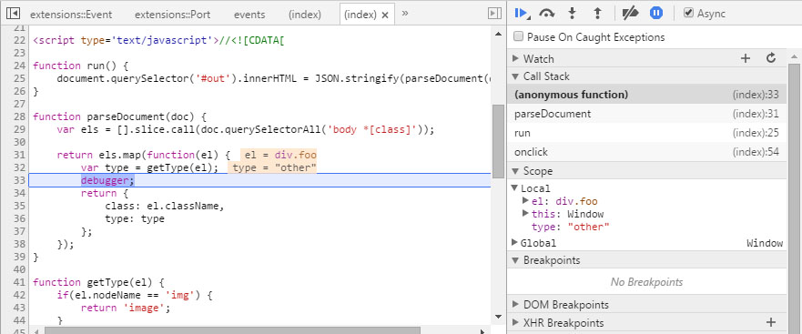 How to fix JavaScript errors more easily with Chrome's